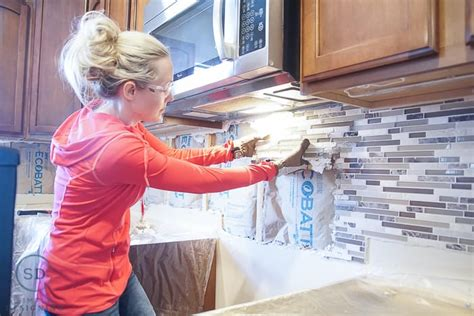 kitchen remodel reveal how to install a kitchen cabinet