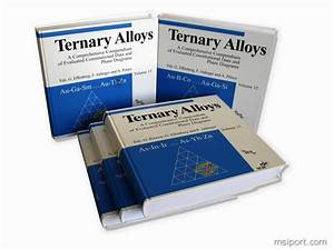 Handbook Of Ternary Alloy Phase Diagrams Macintosh Single User Version