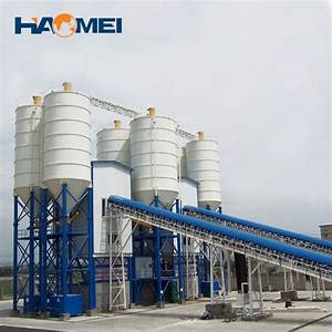 Hzs90 Stationary Concrete Batching Plant For Sale