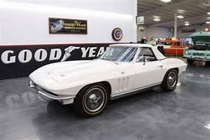 1966 Chevrolet Corvette 68122 Miles White Convertible 350