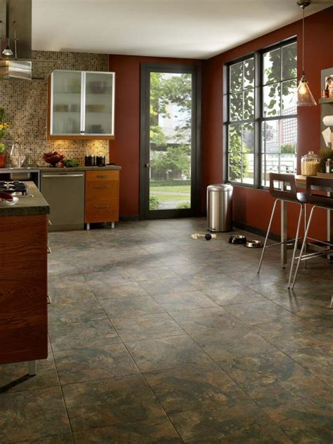 installing vinyl flooring hgtv