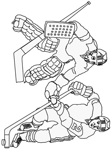Rugby Kleurplaat by Hockey Coloring Page Sport Coloring Page Picgifs