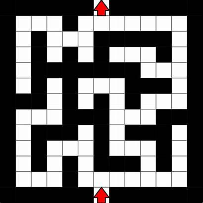 Maze Simple Grid Svg Commons Wikimedia