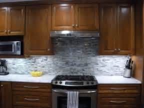 Gray Backsplash Kitchen Grey Backsplash Home Decoration