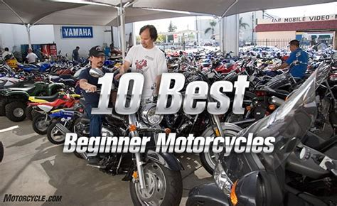 10 Best Beginner Motorcycles