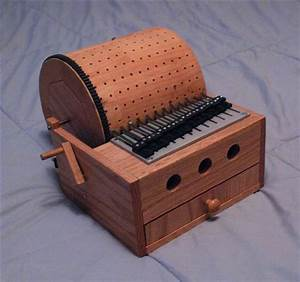 Build a Programmable Mechanical Music Box Music boxes