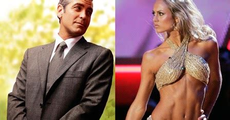 chatter busy george clooney  stacy keibler split