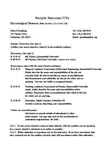 sle resume for berathen