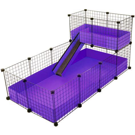 cubby shelf large 2x4 grids narrow loft deluxe cages c c cages