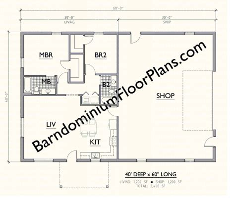 40x60 barndominium floor plans superior metal building floor plans 5 gallery
