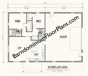 40x60 metal building home plans bricked With 40x60 shop floor plans