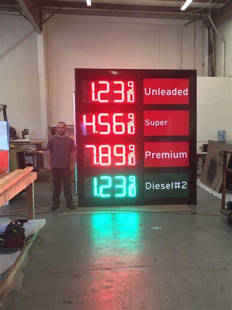 led gas price changer manufacturer