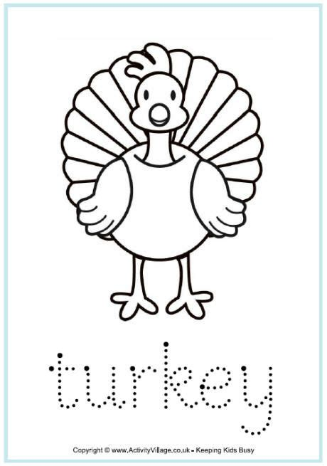 turkey word tracing turkey coloring pages thanksgiving coloring pages fall coloring pages