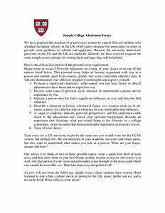 Example Of A Term Paper Sample College Admissions Essays We Have Prepared This
