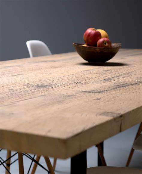 plaque de bureau en verre tables sur mesure en vieux bois la parqueterie nouvelle