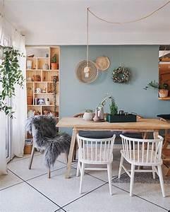 Gemütliche Wohnzimmer Farben : gem tliches esszimmer mit skandinavischem landhaus flair connox beunique wohnen mit farben ~ Watch28wear.com Haus und Dekorationen