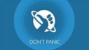Don't Panic Wallpaper by Vantaj on DeviantArt