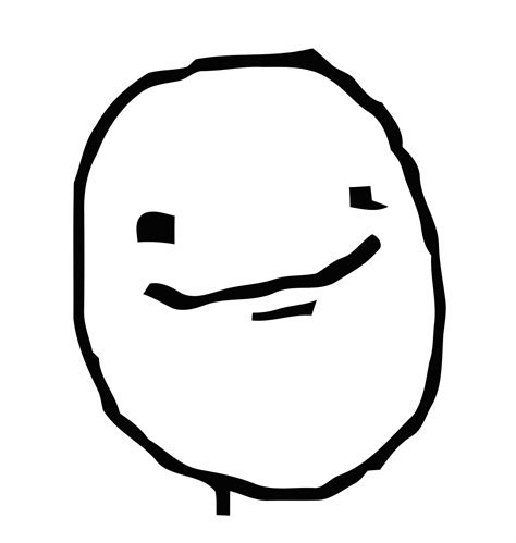 Poker Face Meme - meme happy png clipart best