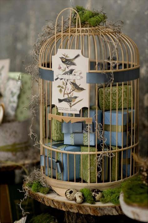 how to decorate bird cages give your home a chic decor by reusing your old bird cage in 25 ways
