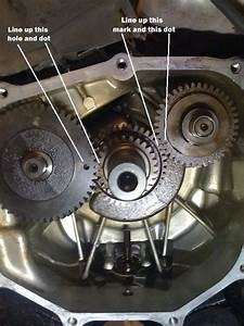 How Do You Line Up The Crankshaft  Counterbalance And