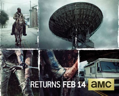 When Will The Walking Dead Season 6 Return After Mid Season Finale by Poster For The Walking Dead Season 6 Part 2 Promises Quot A