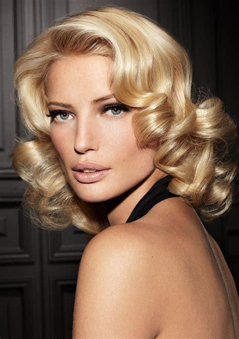 medium vintage hairstyles fantastic curly hairstyles for medium length hair