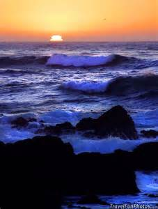 Big Sur California Beach at Sunset