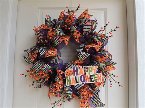 cute diy halloween wreaths guide patterns