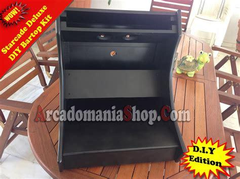 Arcade Cabinet Bartop Kit Diy by Starcade Diy Bartop Arcade Arcadomania Shop
