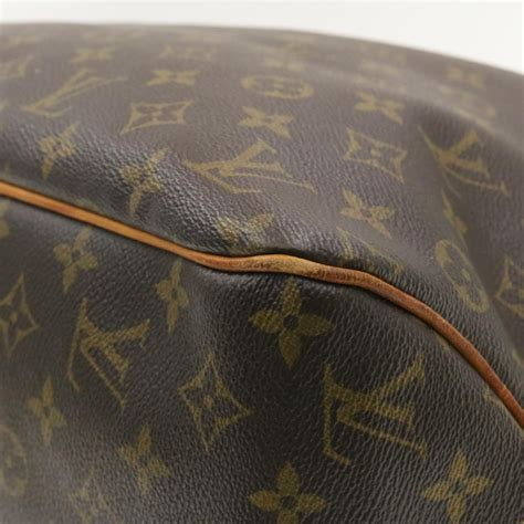 louis vuitton monogram delightful gm tote bag  lv auth  ebay
