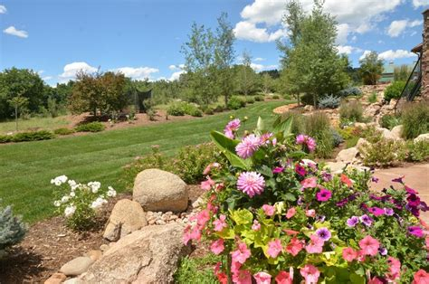 beautiful residential landscapes residential lawn care and maintenance colorado springs