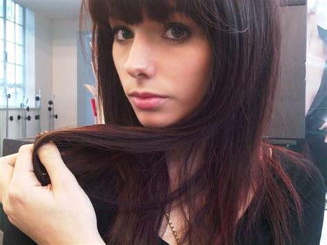 25+ Bästa Red Tint Hair Idéerna På Pinterest