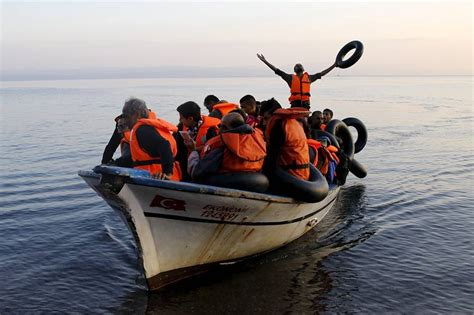 Overcrowded Refugee Boat by Greece Braces For More Seagoing Migrants Wsj