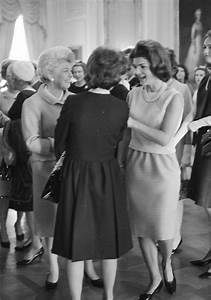 First Jobs For Students First Lady Jacqueline Kennedy 39 S Jbk Tea For Alumnae