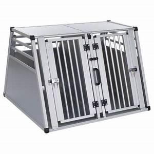 Grande Cage Pour Chien : cage double aluline cage de transport pour chien zooplus ~ Dode.kayakingforconservation.com Idées de Décoration