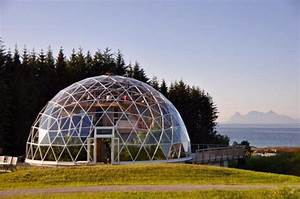 Sustainable Glass Homes : sustainable dome