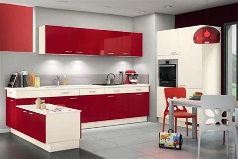 cuisine elite conforama cuisines rouges sélection des plus beaux modèles du moment