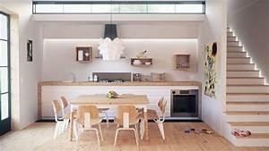 무료 이미지 : 건축물, 목재, 시골집, 로프트, 부엌, 재산, 거실, 방, 아파트, 인테리어 디자인 ...