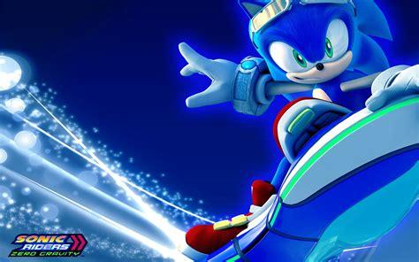 Sonic Background Sonic Riders Zero Gravity Hd Papel De Parede And