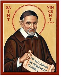St Vincent de Paul icon