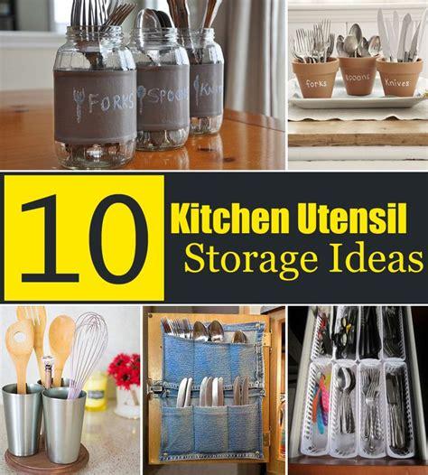 kitchen utensil storage ideas best 25 kitchen utensil storage ideas on 6371