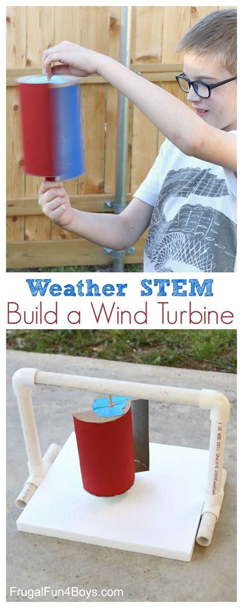 Weather Science Build Wind Turbine Fair