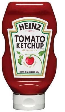 ketchup Heinz libre de gluten. | Celíacos Mexicanos