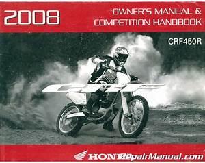 2008 Honda Crf 230 Owners Manual