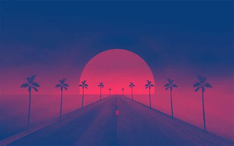 Retro Neon Wallpaper Pc by Retrowave Wallpapers Wallpaper Cave