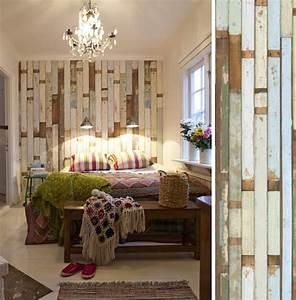 une tete de lit avec du papier peint pour une chambre With couleur pour un salon 2 papiers peints pour une chambre scandinave blog au fil