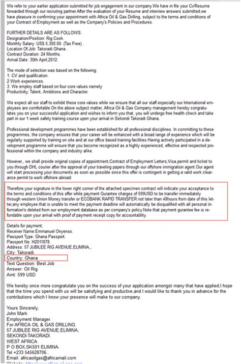 Resume Phishing Scams by Resume Email Scam