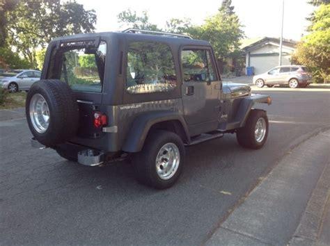 Jeep Wrangler Color Hardtop by 1993 Jeep Wrangler Hardtop Classic Jeep Wrangler 1993