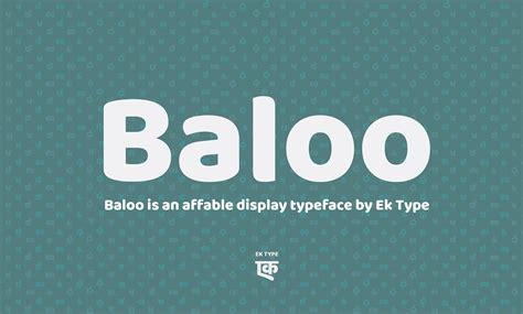 baloo indian font family  font family  behance