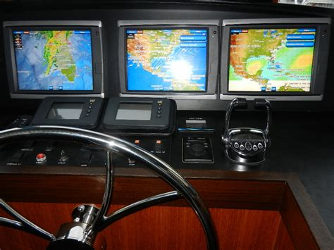 Boat Control Panel by Guided Discovery New Pilothouse Control Panel
